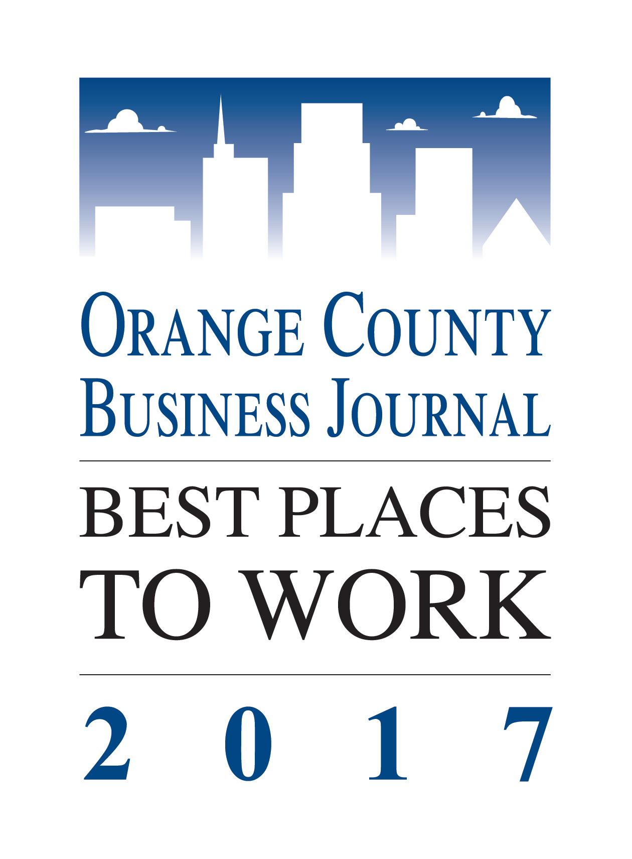 best place to work award logo 2017