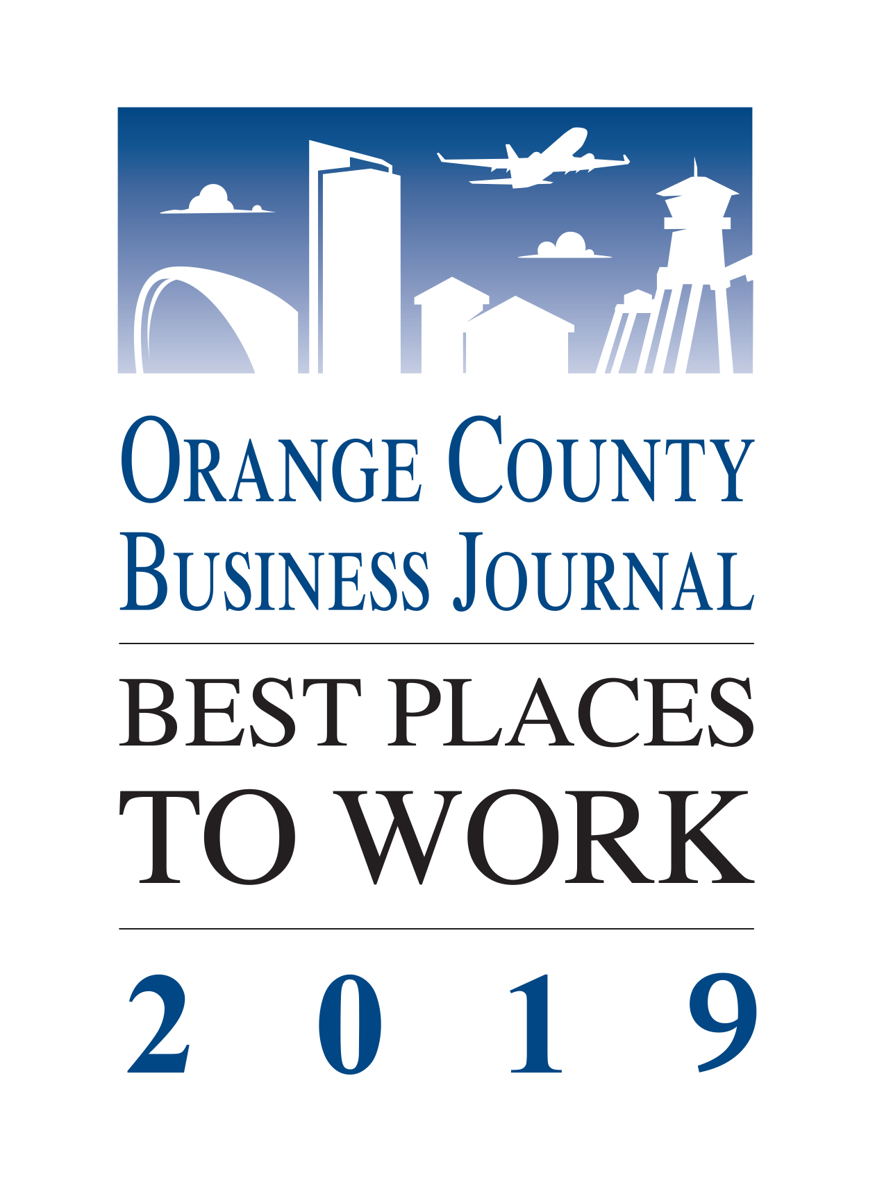 best place to work award logo 2019