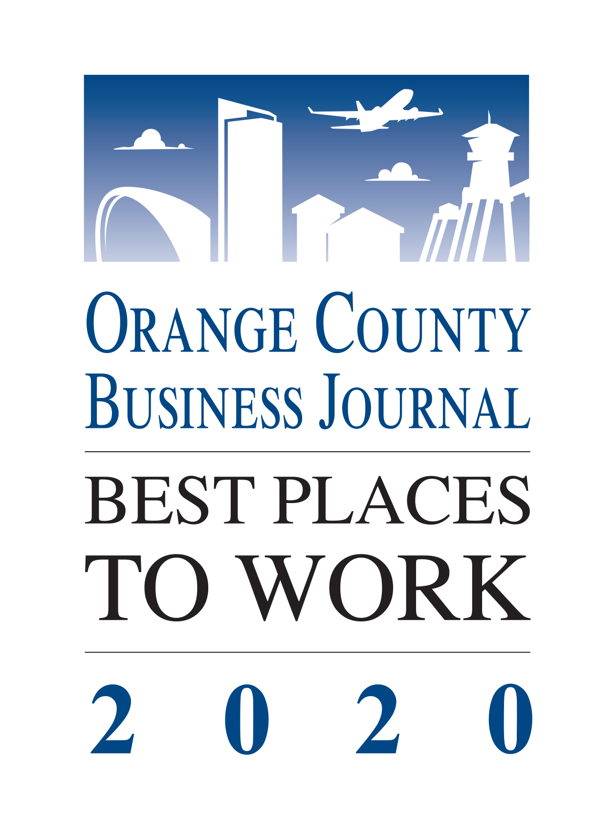 best place to work award logo 2020