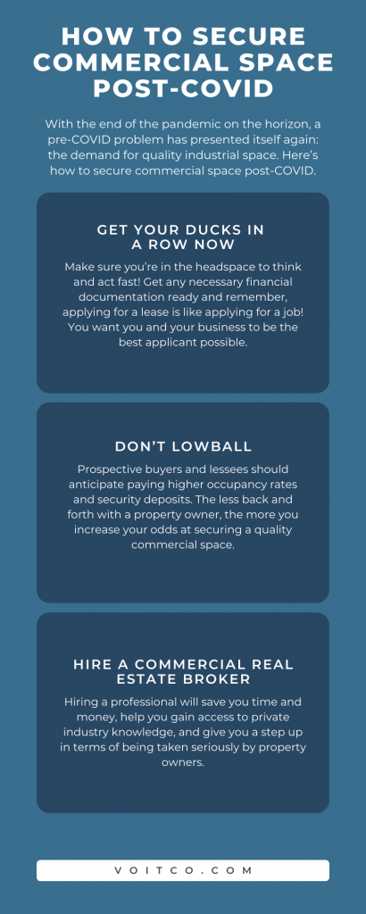 How to Secure Quality Commercial Space