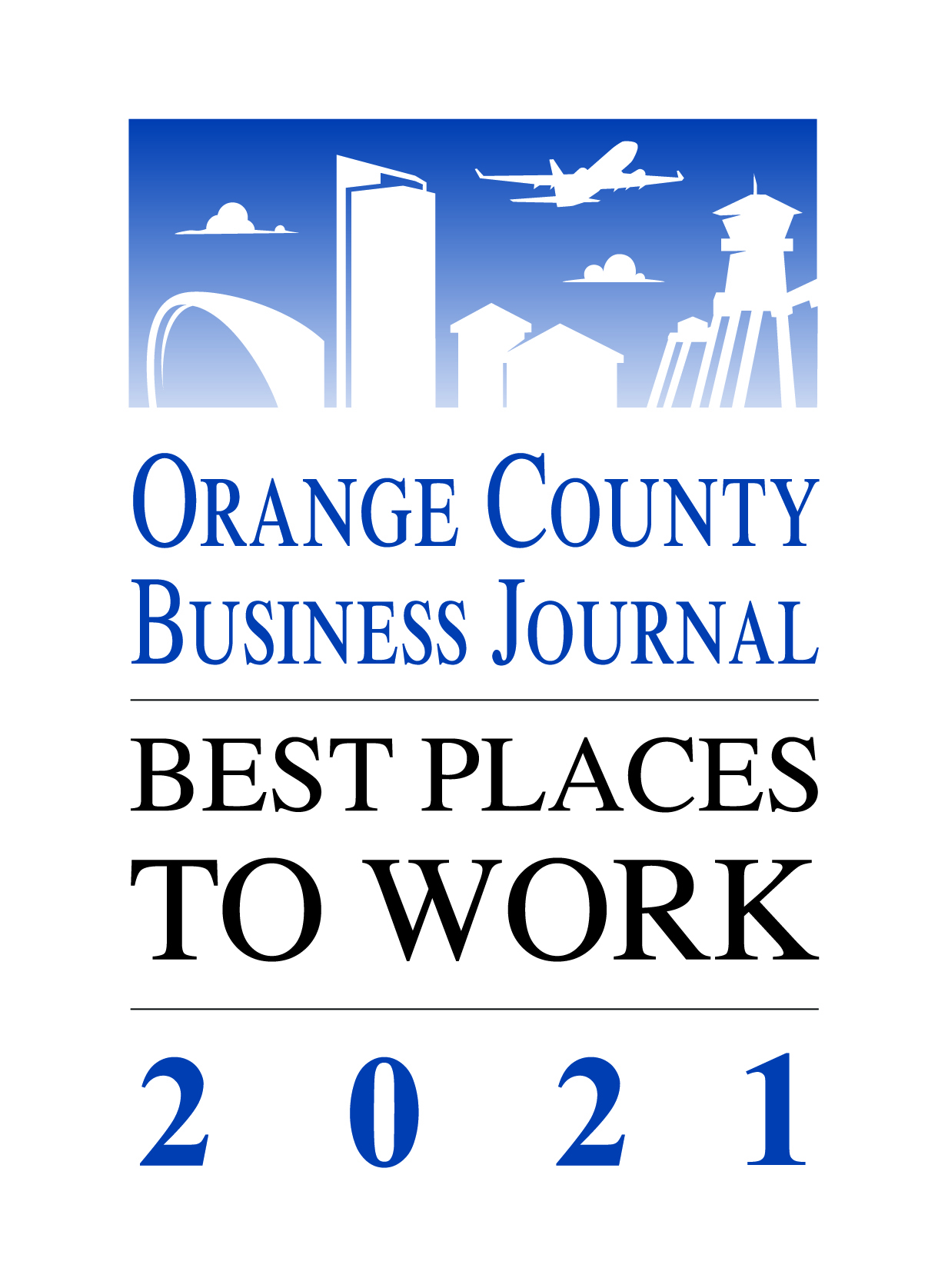 best place to work award logo 2021