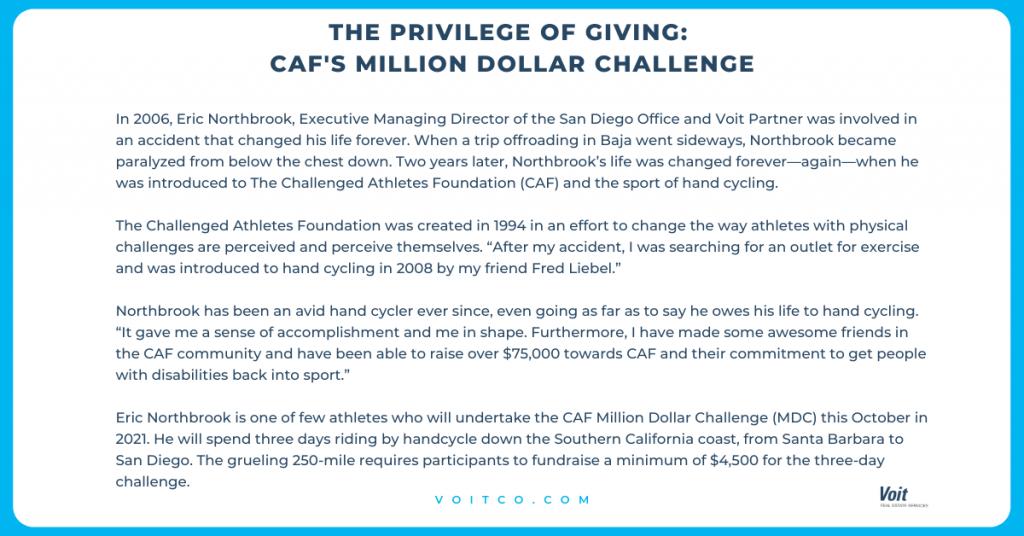 CAF Million Dollar Challenge