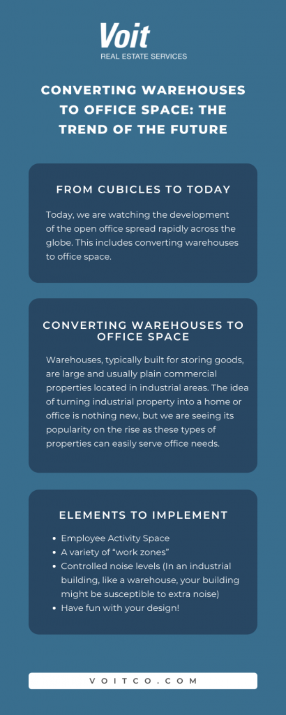Converting Warehouses to Office Space