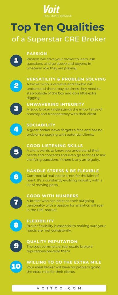 CRE Broker Qualities